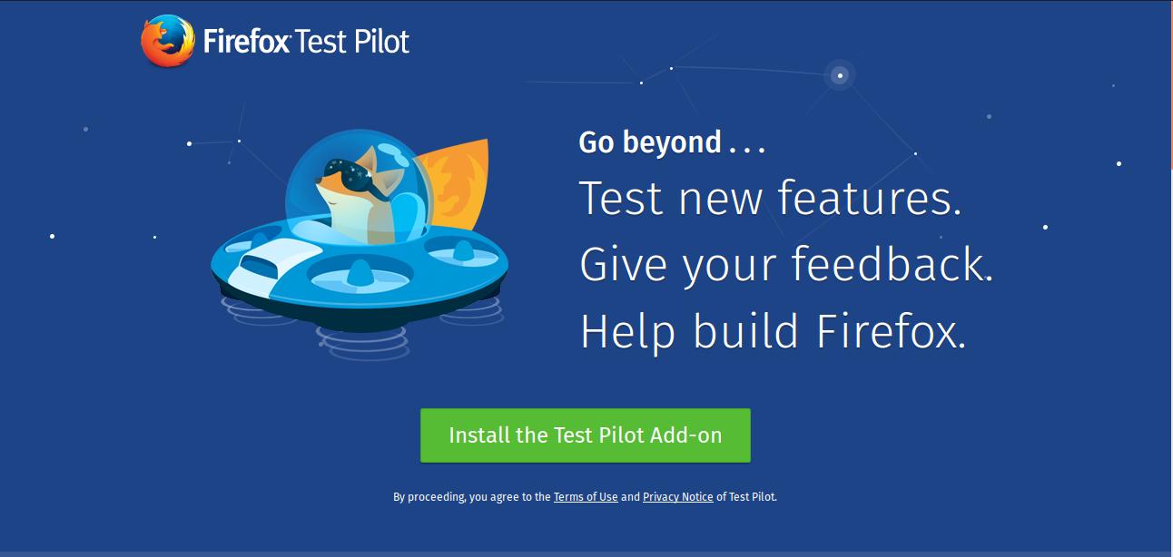 Firefox Test Pilot Image