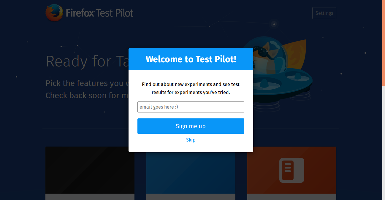 Welcome to Test Pilot